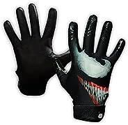 Taqcha Villain Baseball Batting Gloves - Pittard Grip Skin Tight Adult Batting Gloves - Enhanced Performance B