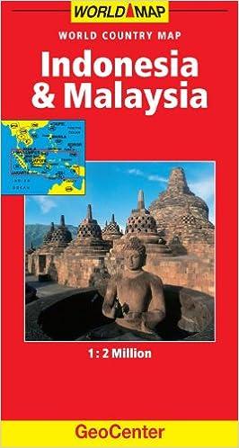 Indonesiamalaysia geocenter world map amazon mairs indonesiamalaysia geocenter world map amazon mairs 9783829764605 books gumiabroncs Image collections