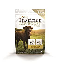 Instinct Raw Boost Grain Free Chicken Meal Formula Natural Dry Dog Food by Nature's Variety, 23.5 lb. Bag