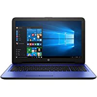 HP 14 inch Premium Flagship Blue Laptop (Intel Celeron N3060 up to 2.48GHz, 4GB RAM, 32GB Solid State Drive, Wifi, Webcam, Windows 10 Home) (Certified Refurbished)