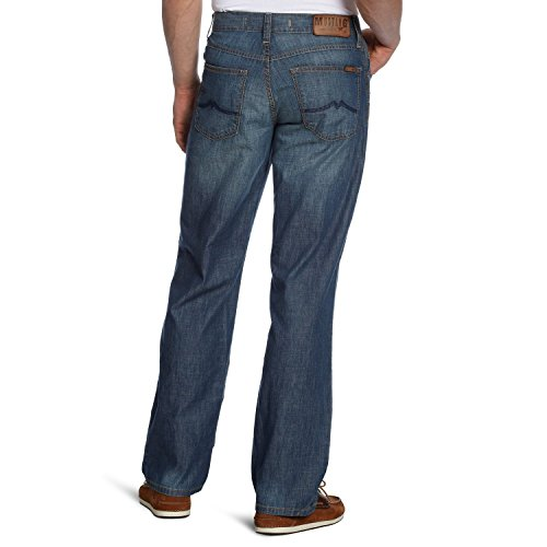 MUSTANG Big Sur Hose Herren Jeans Denim Blau 3169 5474 560