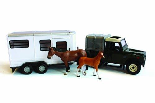 Britain Horse - Britains Big Farm Land Rover And Horse Trailer Set