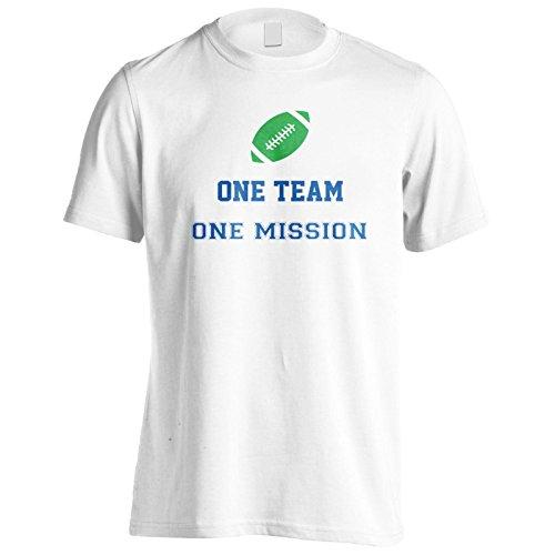 Ein Team Eine Mission Fußball Herren T-Shirt n617m