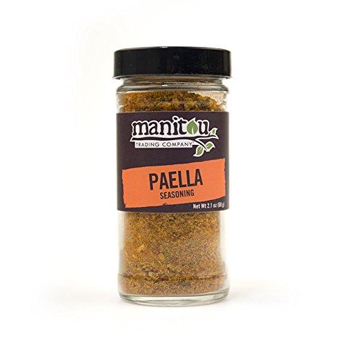 Paella Seasoning, 2.1 Oz Glass Jar