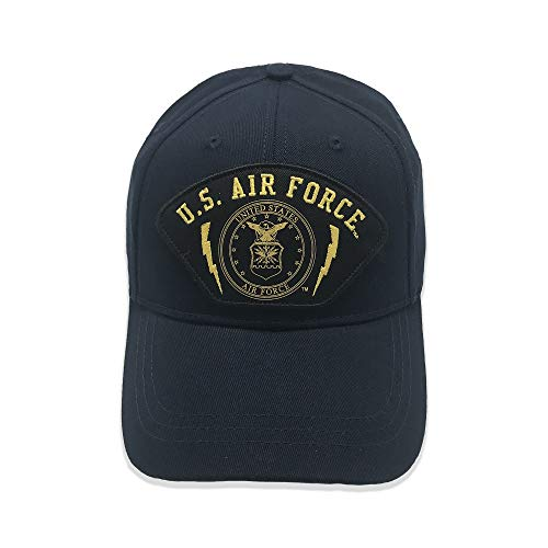 BUNKER 27 Official Licensed United States Air Force Emblem Baseball Cap - Sport Bunker Cap