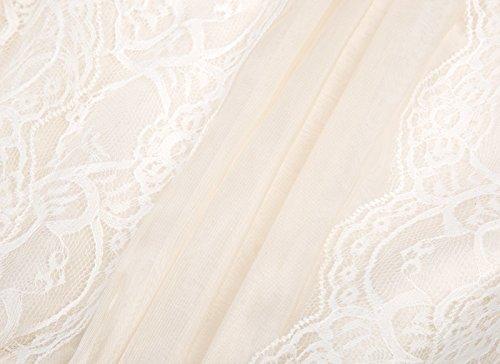 Amazon.com: GRACE KARIN Sleeveless Lace Princess Wedding Dress For Girls: Clothing