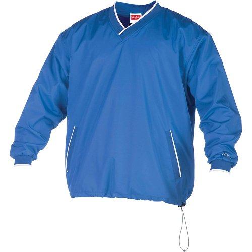 Rawlings Boys' Ryvnw2 Youth V-Neck Pullover Jacket