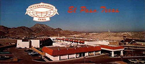 International Inn, 500 Executive center Blvd. El Paso, Texas Original Vintage Postcard