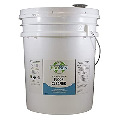 EcoGen ECOFLR-B Industrial Floor Cleaner, Concentrated, Bucket, 5 gal