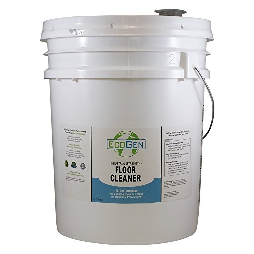 EcoGen ECOFLR-B Commercial Floor Cleaner Concentrate, 5 gal Bucket