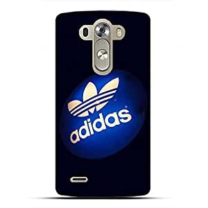 Unique Stylevintage style Adidas Phone Case Cover for LG G4 3D Hard cover Case_Black