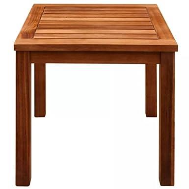 Amazon.com: Tidyard - Juego de 2 sillas de madera para patio ...