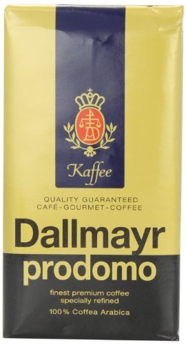 Dallmayr Gourmet Coffee, Prodomo (Ground), 8.8-Ounce Vacuum Packs (Pack of 3), Garden, Lawn, ()