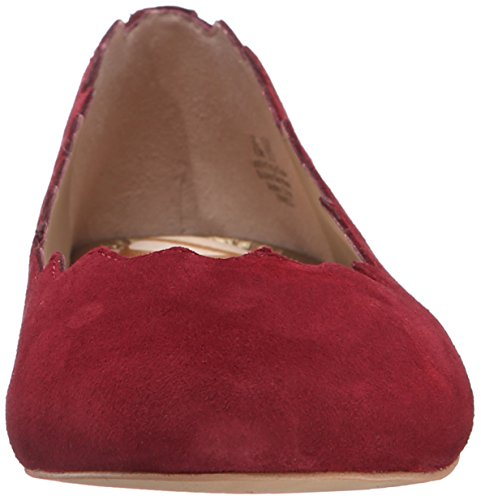 Sam Edelman Mujer Francis Ballet Flat Rojo Tango
