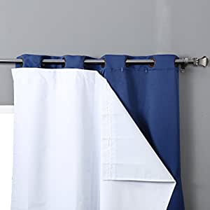 Rhf Thermal Insulated Blackout Curtain Liner For 84 Inch Curtains Blackout Curtain