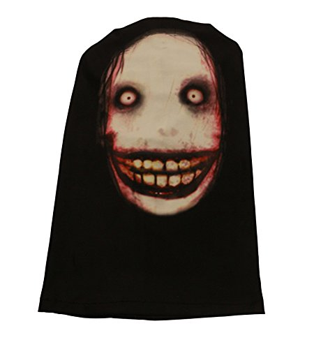 Unisex Horrible Cosplay Jeff T-Killer Elastic Face Mask -
