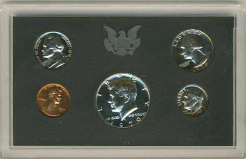 Collection Coin Proof (1971 U.S. Proof Set in Original Government Packaging)