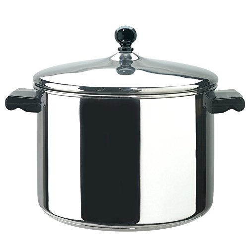 Pemberly Row Stainless Steel 8qt Saucepot