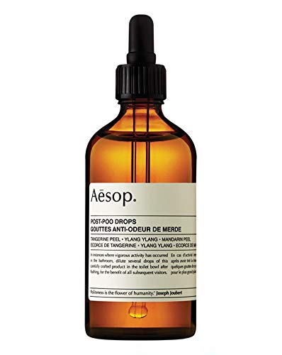 (Aesop Post Poo Drops - 100ml - Toilet Freshener :: Tangerine & Mandarin Peel)