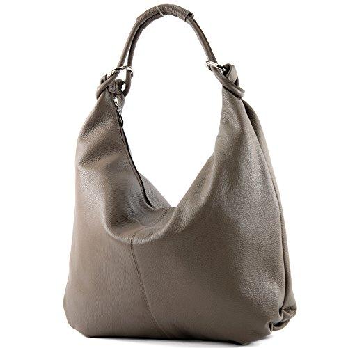 main 337 en Taupe besace sac cuir en sac cuir femme Sac italien sac de à cabas IRBwRq
