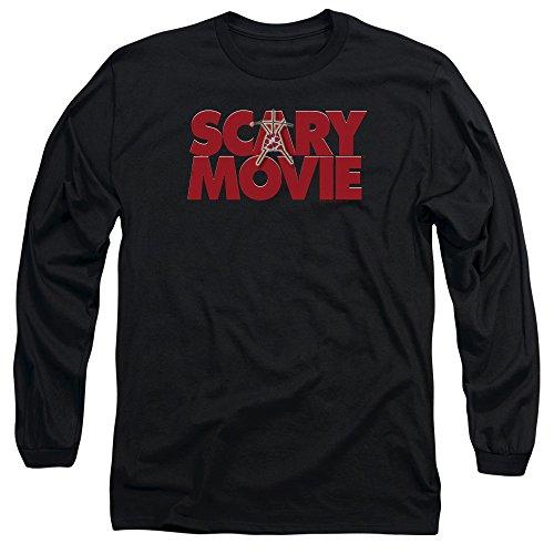 Scary Movie Logo Long Sleeve Shirt, Black, XL]()