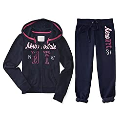 Aeropostale Women's Hoodie and Sweat Pants Set NYC