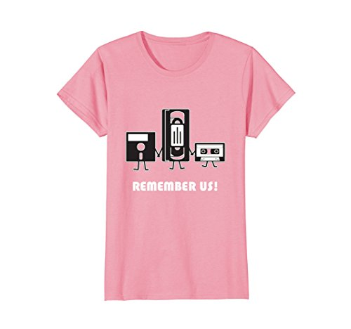 Womens Remember Us 80s Tech Funny T-shirt - 5 colors