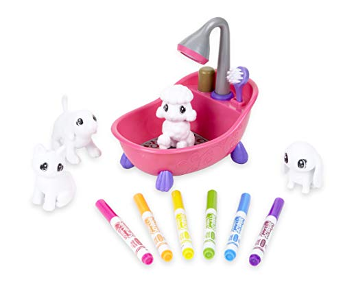 Crayola Scribble Scrubbie, Toy Pet Playset,Gift for Kids, Age 3, 4, 5, 6
