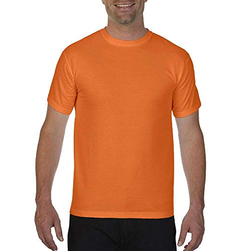 (Comfort Colors 1717 Pigment-Dyed Short Sleeve Shirt (Brick, XX-Large))