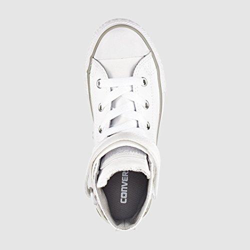 Chaussure enfant Converse Chuck Taylor cuir Brea - blanc, 27