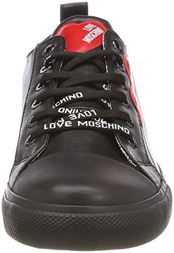 Sneakers Black Black Women Love Moschino wxBTZatZq