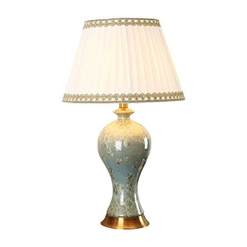 XF Table Lamps Ceramic Chinese Retro Creative Hand-Painted Living Room Home Bedroom Bedside Study Decorative Table Lamp Tabletop - Lamp Ceramic Hand Painted