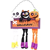Ragdoll50 Creative Halloween Dolls Door Hanging Bars Plush Doll Pendants Halloween Decorations Props(54 x 33cm)