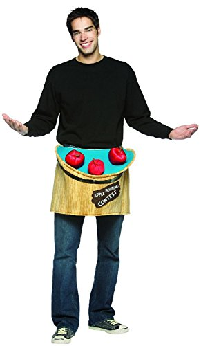 [Bobbing for Apples Costume Accessory - One Size - Chest Size 42-48] (The Funniest Halloween Costumes)