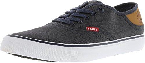 Levis Mens Monterey Buck Fashion Sneaker Navy / Marrone
