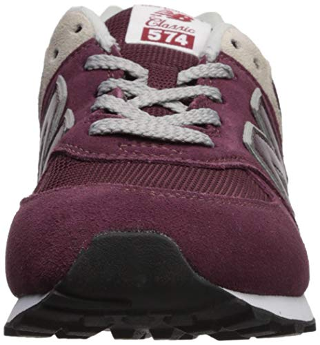 burgundy Rouge New Baskets Mixte Balance Enfant 574v2 grey U7zzwYxq