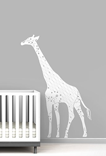 Cornet Giraffe Baby Nursery Wall Decal by LittleLion Studio by LittleLion Studio