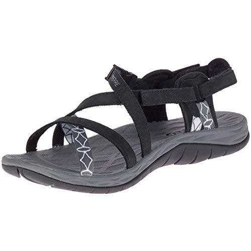 - Merrell Siren Cardia Q2 Women's Outdoor Athletic Water Sandal Shoes (7 Medium, Black)