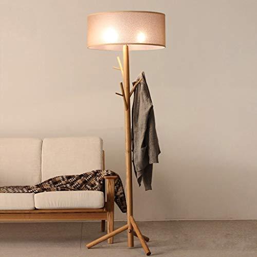 Living Room Floor Lamp Modern Tree Branch Wood Floor Lamps Lights Bedroom Coat Rack Grey Standard Bedside Lighting -Floor Reading LightsReading Floor Lamp,Warm Light