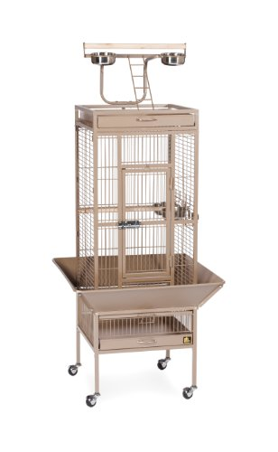 Prevue Hendryx 3151COCO Pet Products Wrought Iron Select Bird Cage, Coco Brown