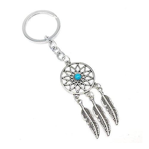 KeyZone Charming Key Ring Chain Dreamcatcher Pendant Keychain