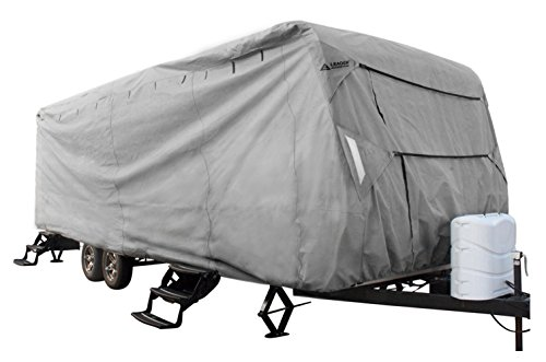 Leader Accessories Travel Trailer RV Cover Fits 16'-18' Trailer Camper 3 (Rv Trailer Covers)