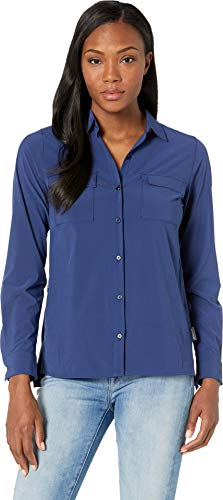 ExOfficio Women's Kizmet Long Sleeve, Ink, Large