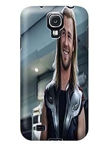 Cool Chris Hemsworth Thor fashionable Series Lightweight Waterproof TPU Protection Case Covers for Samsung Galaxy s4 WANGJING JINDA