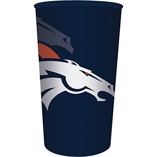 Denver Broncos 22oz Plastic Stadium Cup (1 ct)