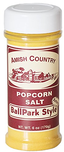 Why Choose Amish Country Popcorn - 6 Oz BallPark ButterSalt - Old Fashioned with Recipe Guide - Nut ...