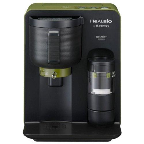 SHARP HEALSIO tea Presso Yuzamashi (boiled water) function with TE-TS56V-G (green)
