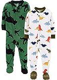 Carter's Boys' Toddler 2-Pack Fleece Pajamas (Multi Colors, 18 Months)