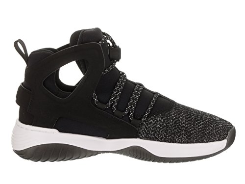 Nike Barna Air Avgang Huarache Ultra (gs) Basketball Sko Svart / Svart Hvit Volt