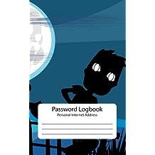 Password Log : Personal Internet Address Book: Halloween A Simple Password Journal